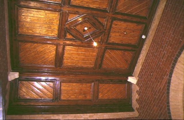 former albert park railway station complex ferrars street albert park ceiling detail jun1998