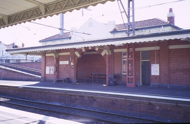 1 malvern railway station complex station street malvern south elevation apr1997