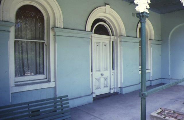 osborne house nicholson street fitzroy verandah jan1979