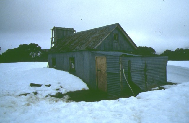 spargo's hut bright front view