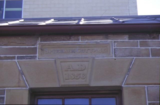specimen cottage hargraves street bendigo facade detail
