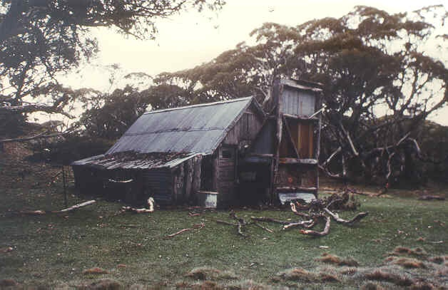 1 wallace's hut high plains bogong front view