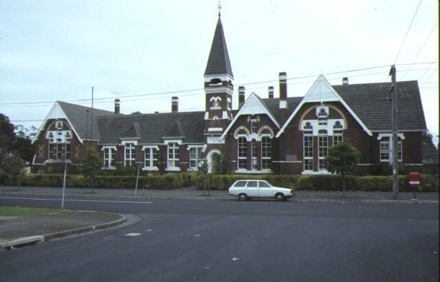 1 primary school number 2634 densham road armadale front elevation