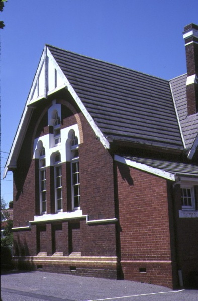 primary school number 2634 densham road armadale detail of front facade
