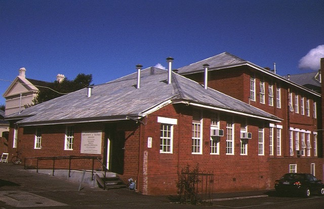 former school of mines lyttleton street castlemaine rear view 1997