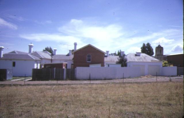 alexandra court house & shire hall rear view feb1985