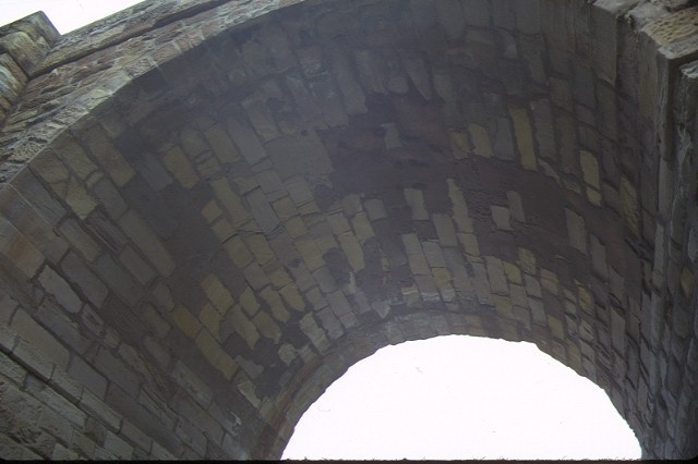 bridge over djerriwarrh creek bacchus marsh arch detail sep1984