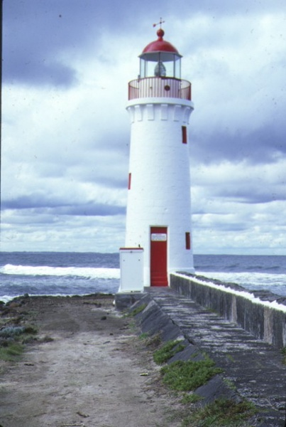 1 grifith island lighthouse griffith island port fairy front view