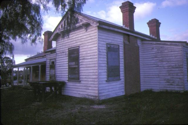 former police residence davey street avoca rear view