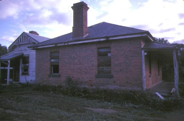 former police residence davey street avoca side view