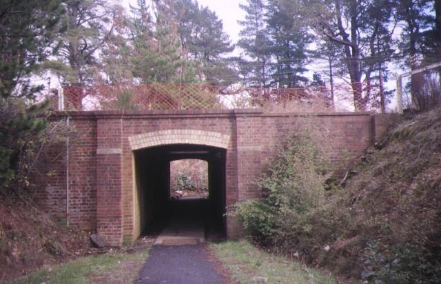 creswick railway complex pedestrian subway may1995