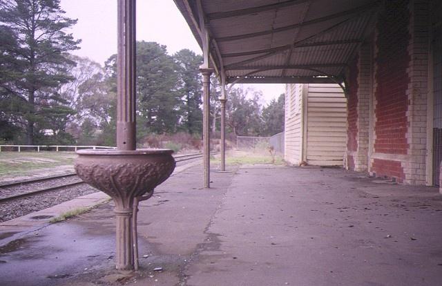 creswick railway complex platform may1995