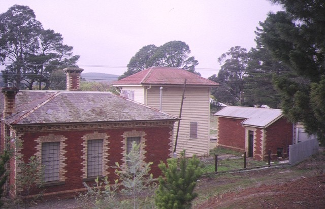 creswick railway complex rear view may1995