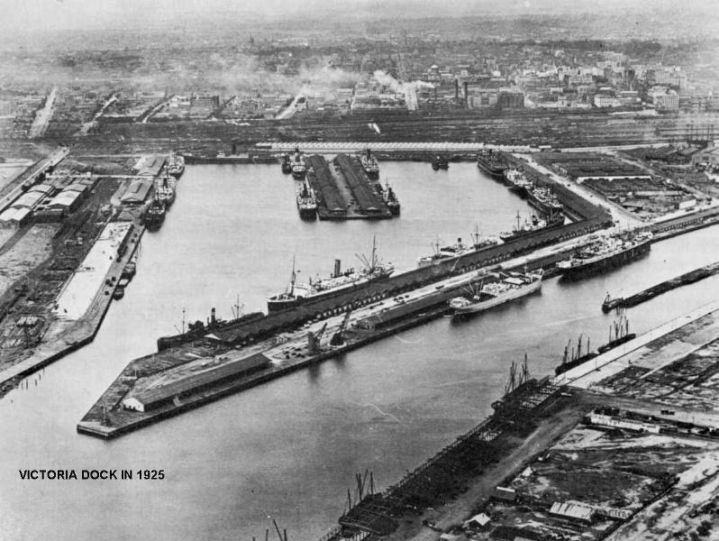 1 victoria dock in 1925