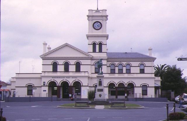1 maryborough post office maryborough front view aug1998
