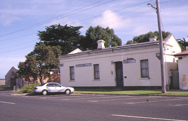 1 bond store & office port albert front view feb1996