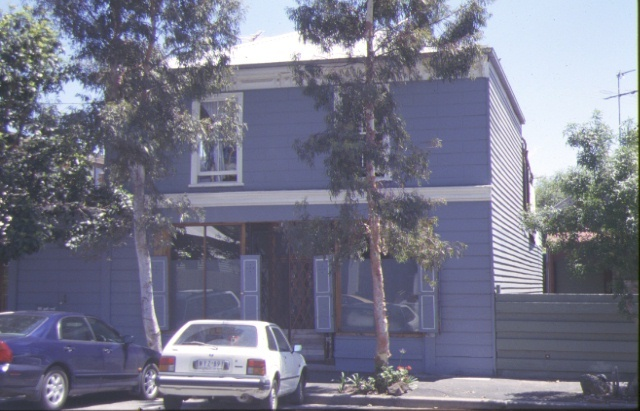 1 former shop & residence stokes street port melbourne front view nov1998
