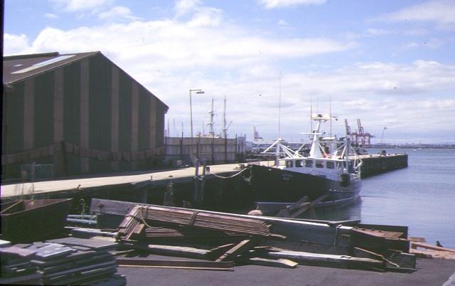 1 former melbourne harbor trust workshops ann street williamstown boyd jetty jan1999