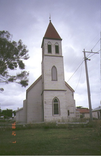 1 anglican church rules road lake tyers front elevation 1998