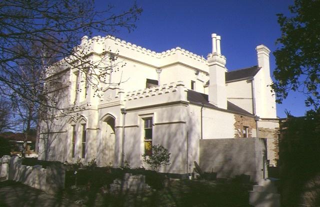 1 tudor house 52 pasco street williamstown northern elevation sep1999