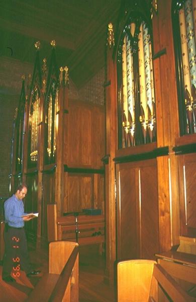 1 pipe organ st patricks rogers street mentone front view 1 sep1999