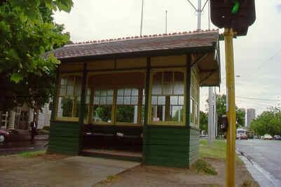 1 tram shelter cnr st kilda rd & dorcas st south melbourne