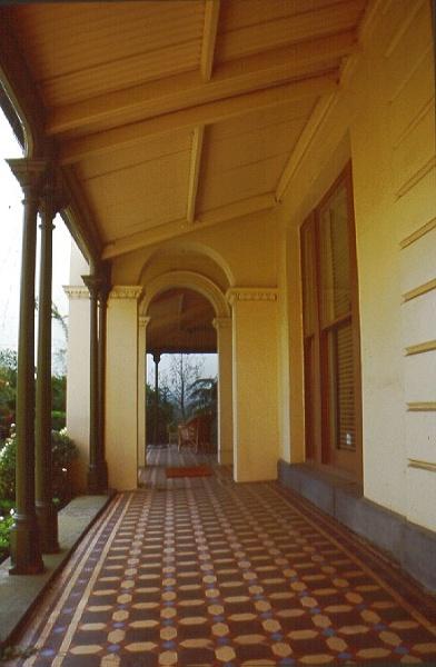 braemar geoerge street east melbourne verandah from east jan 2000