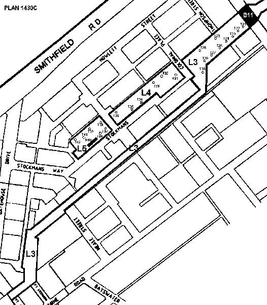 1430c newmarket abattoirs detail plan