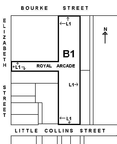 royal arcade plan