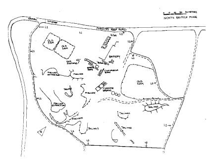 north british gold mine plan