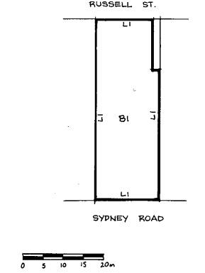 former bates building plan