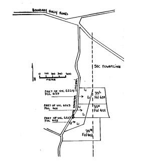 new nuggetty gully alluvial gold workings yandoit creek werona road yandoti plan