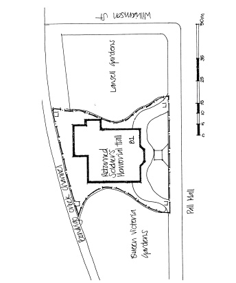 returned soldiers hall bendigo garden plan