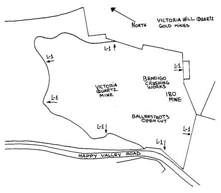 victoria hill quartz gold mine plan