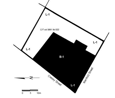 a j thomas's motor garage plan
