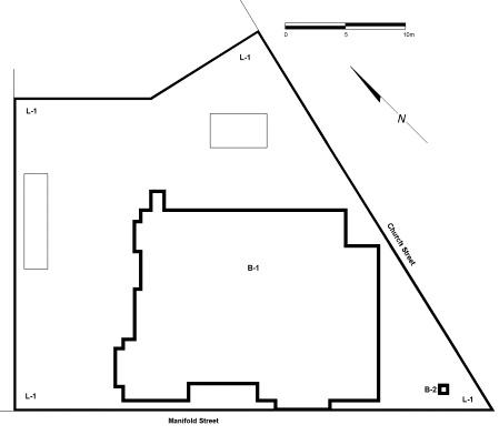 camperdown post office plan
