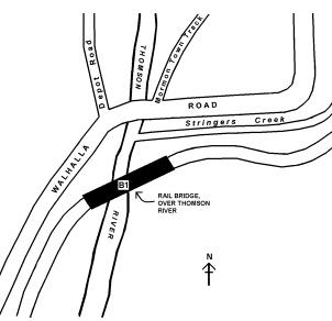 rail bridge thomson river walhalla plan