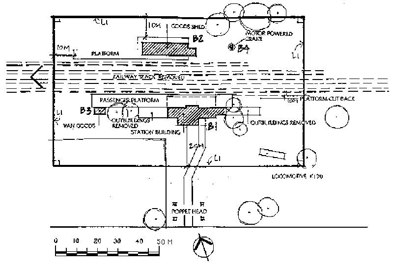 wonthaggi railway station plan