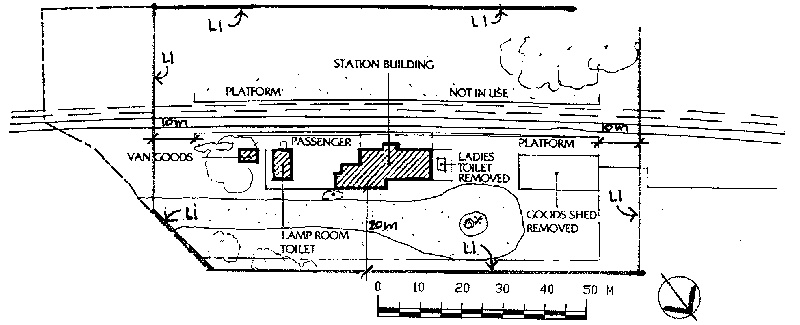 bannockburn railway station plan