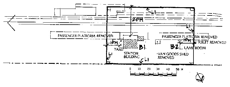 gordon railway station plan
