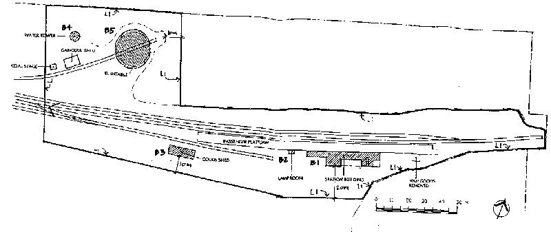 healesville railway station plan
