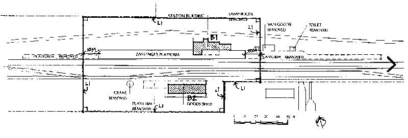 kaniva railway station plan