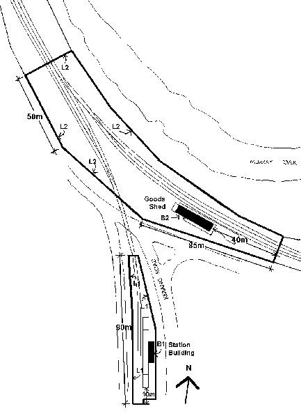 koondrook tram station town plan