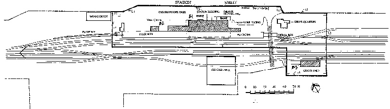 korumburra railway station plan