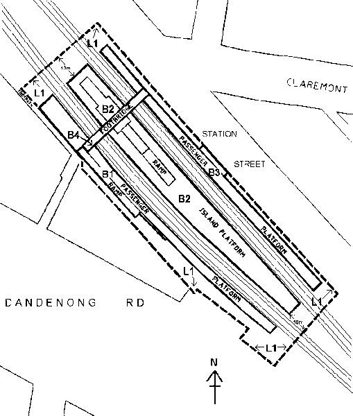 malvern railway station complex plan