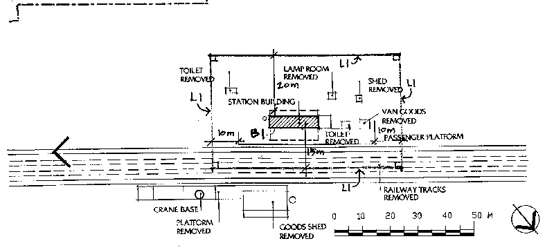 minyip railway station plan