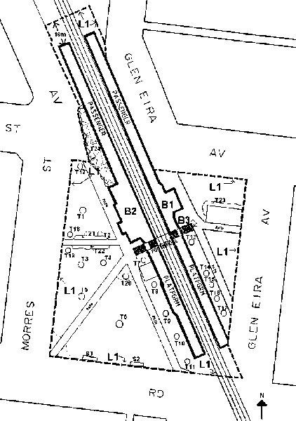ripponlea railway station complex plan