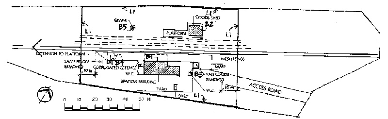 rosedale railway station plan