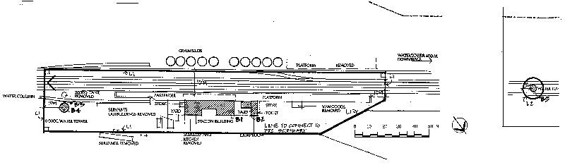 st arnaud railway station plan