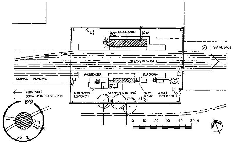 wycheproof railway station plan